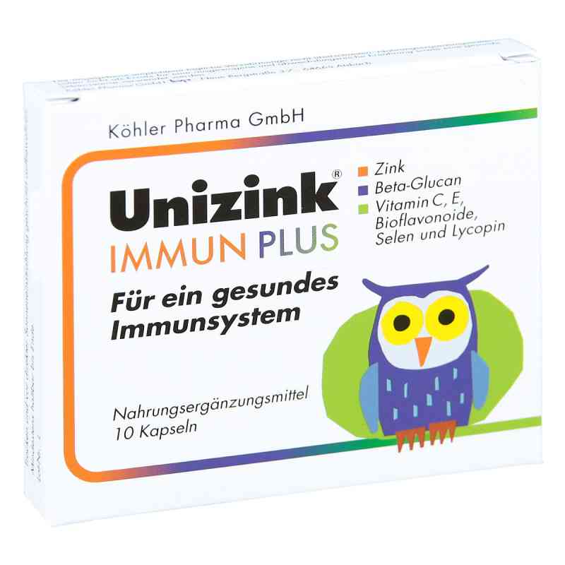 Unizink Immun Plus Kapseln  bei Apotheke.de bestellen