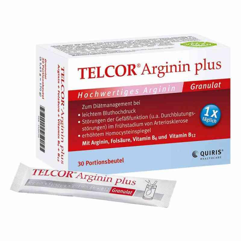 Telcor Arginin plus Beutel Granulat  bei Apotheke.de bestellen