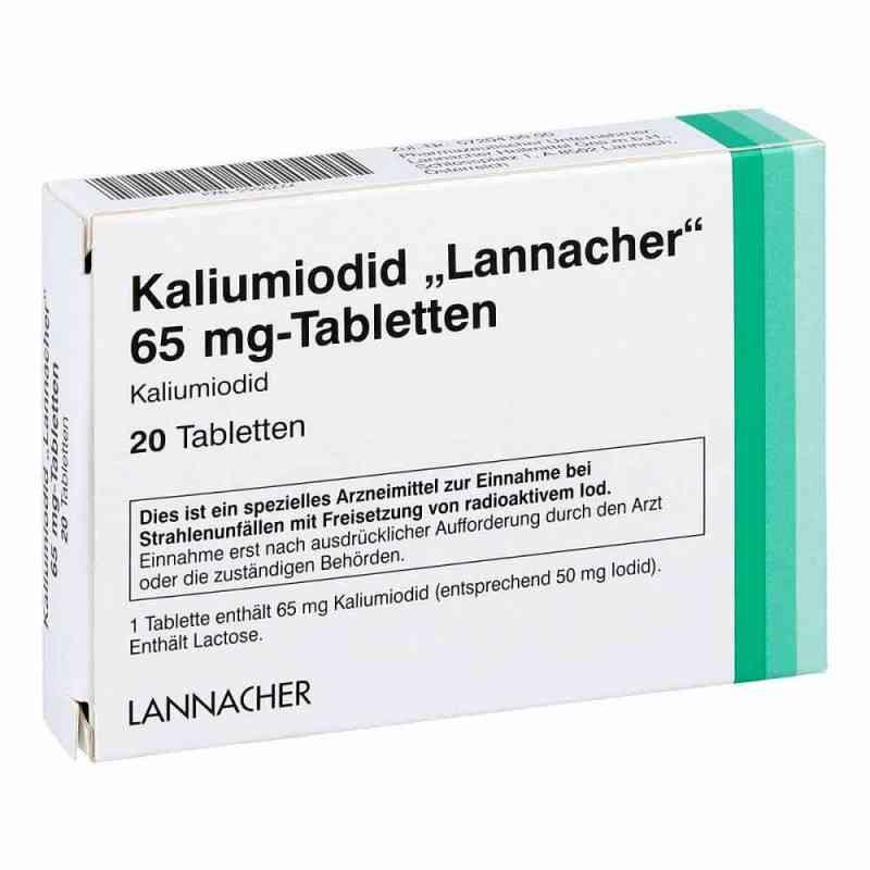 Kaliumiodid Lannacher 65 mg Tabletten  bei Apotheke.de bestellen