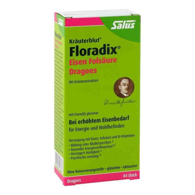 Floradix Eisen Folsäure Dragees  bei Apotheke.de bestellen