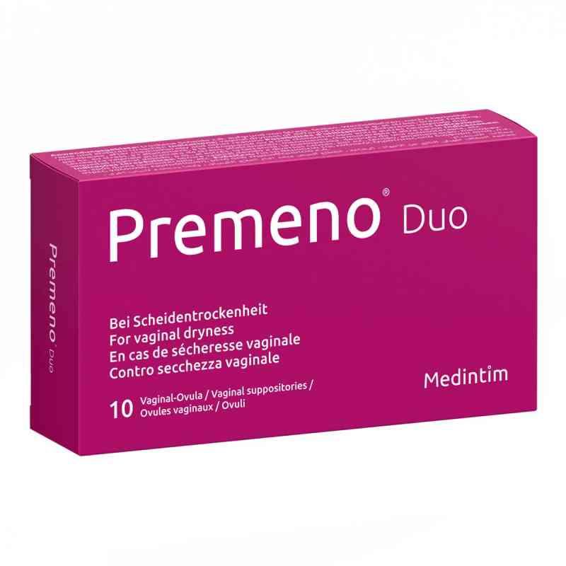 Premeno Duo Vaginalovula  bei Apotheke.de bestellen