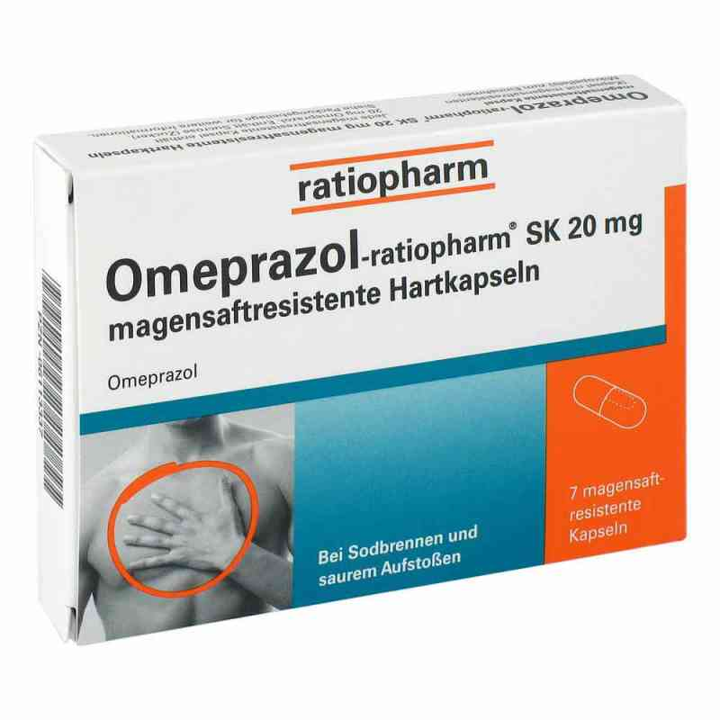 omeprazol ratiopharm sk 20mg 7 stk ihre g nstige online. Black Bedroom Furniture Sets. Home Design Ideas