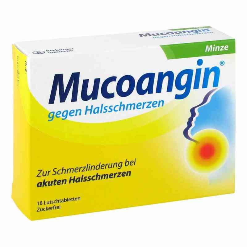 Mucoangin gegen Halsschmerzen Minze Lutschtabletten  bei Apotheke.de bestellen