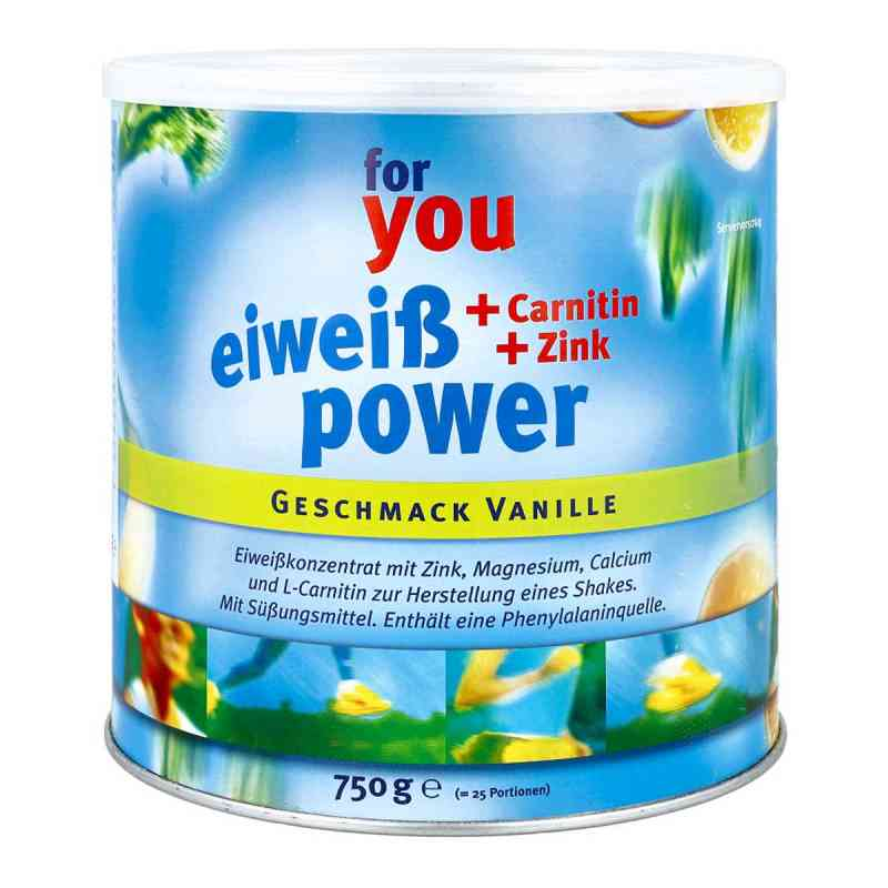 For You Eiweiss Power Vanille  bei Apotheke.de bestellen