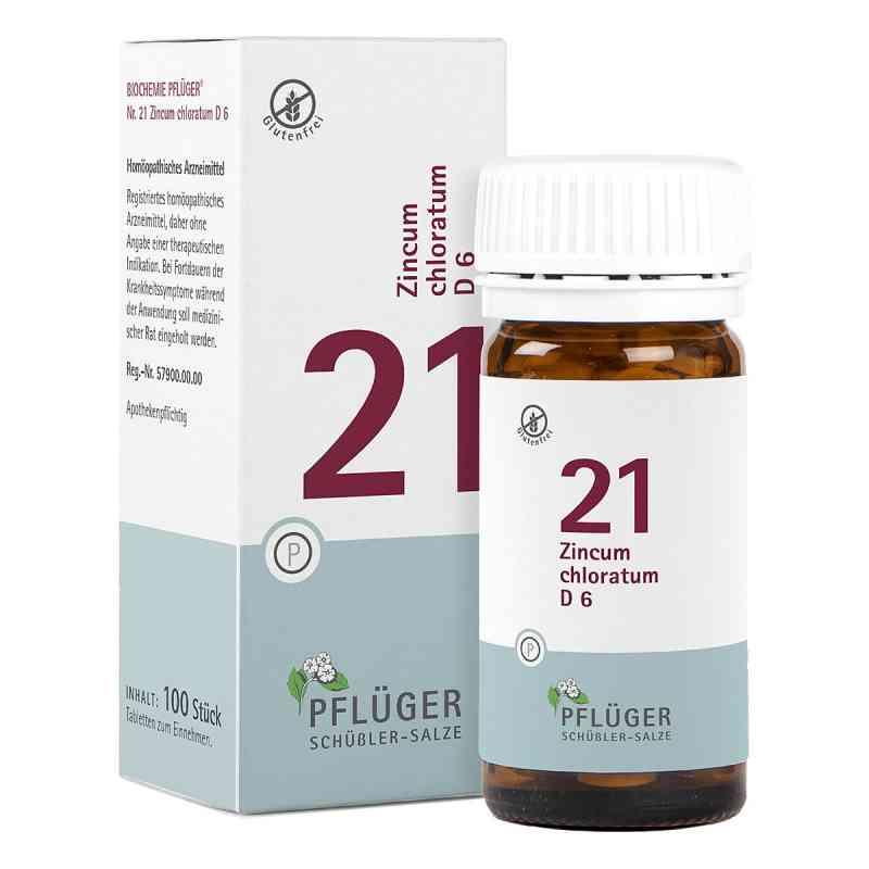 Biochemie Pflüger 21 Zincum chloratum D6 Tabletten  bei Apotheke.de bestellen