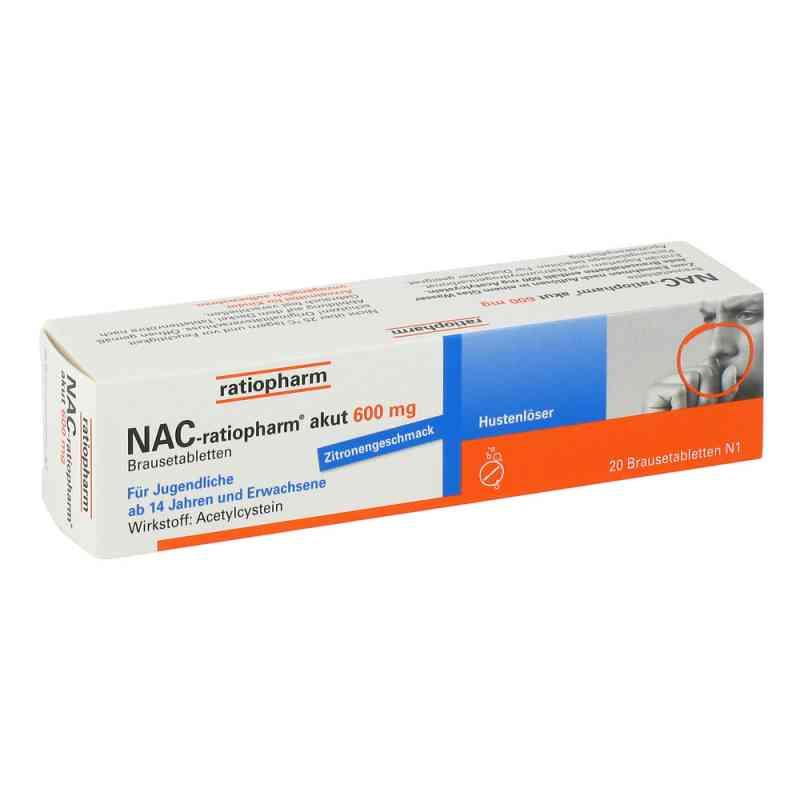 NAC-ratiopharm akut 600mg Hustenlöser  bei Apotheke.de bestellen