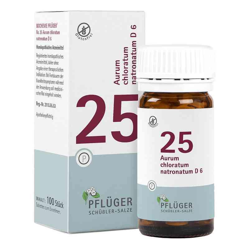 Biochemie Pflüger 25 Aurum chlor.natr.D 6 Tabletten  bei Apotheke.de bestellen