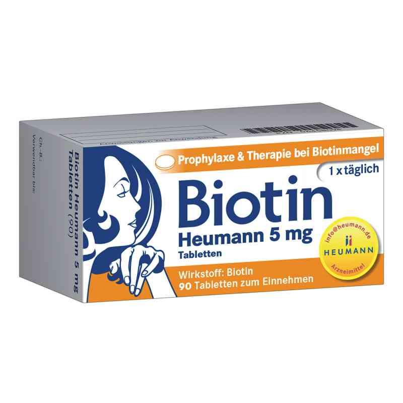 Biotin Heumann 5 mg Tabletten  bei Apotheke.de bestellen