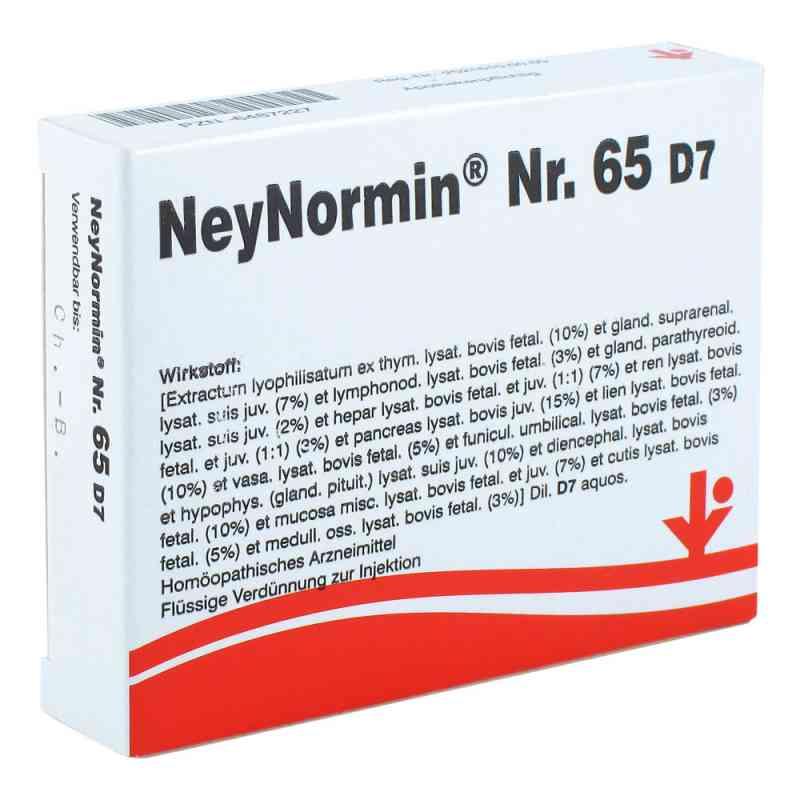 Neynormin Nummer 6 5 D7 Ampullen  bei Apotheke.de bestellen