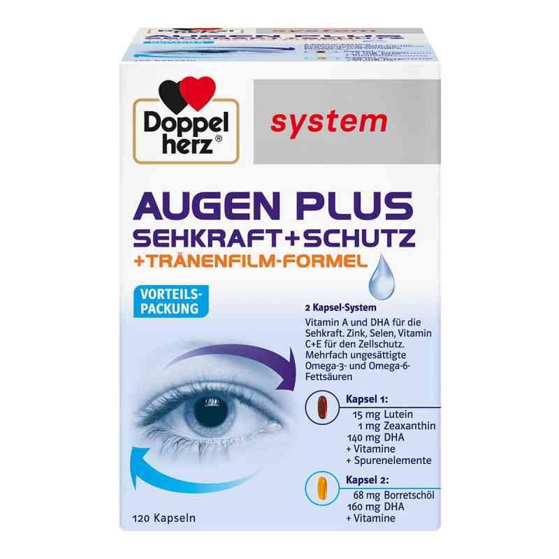 Doppelherz Augen plus Sehkraft+Schutz System Kapsel (n)  bei Apotheke.de bestellen