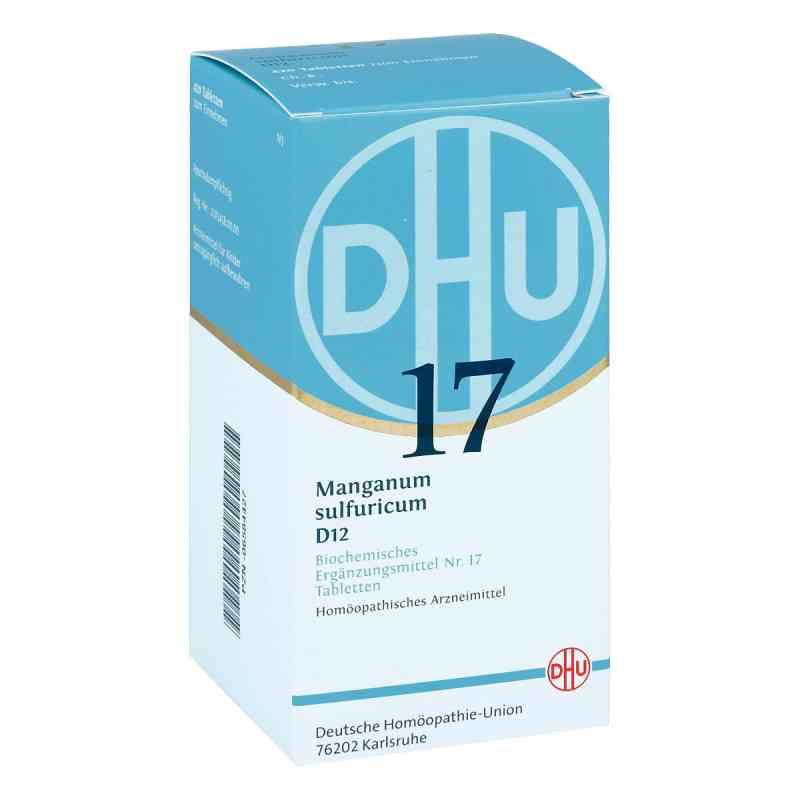Biochemie Dhu 17 Manganum sulfuricum D 12 Tabletten   bei Apotheke.de bestellen