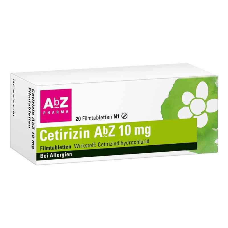 Cetirizin AbZ 10mg  bei Apotheke.de bestellen