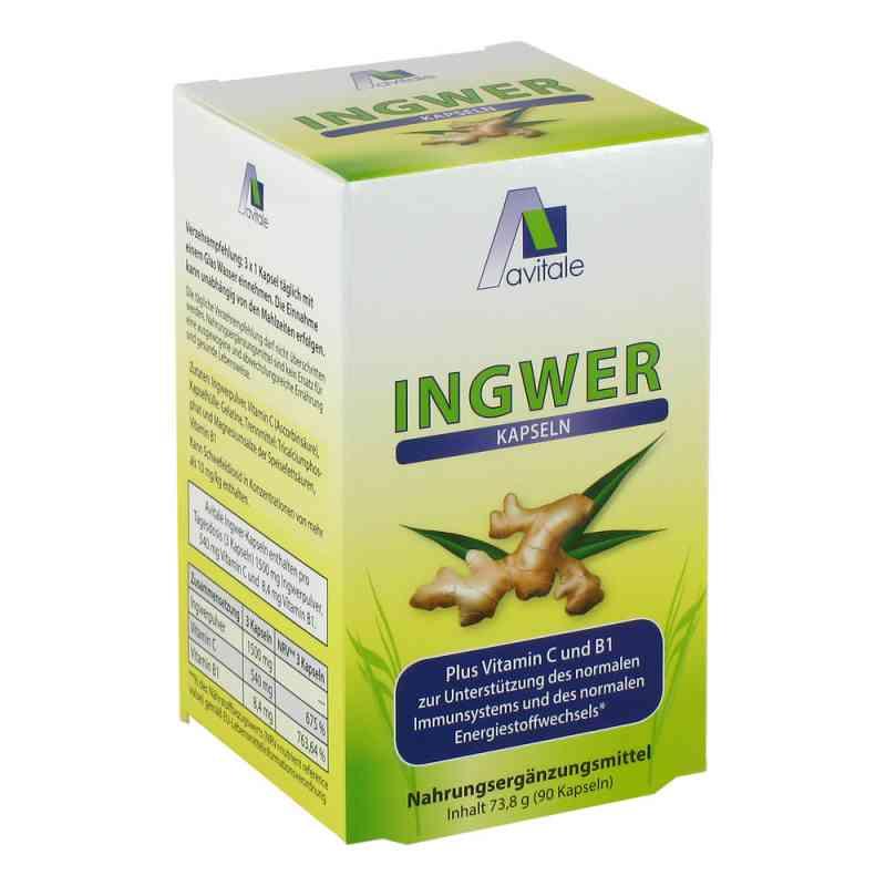 Ingwer 500 mg Kapseln + Vitamin B1+c  bei Apotheke.de bestellen