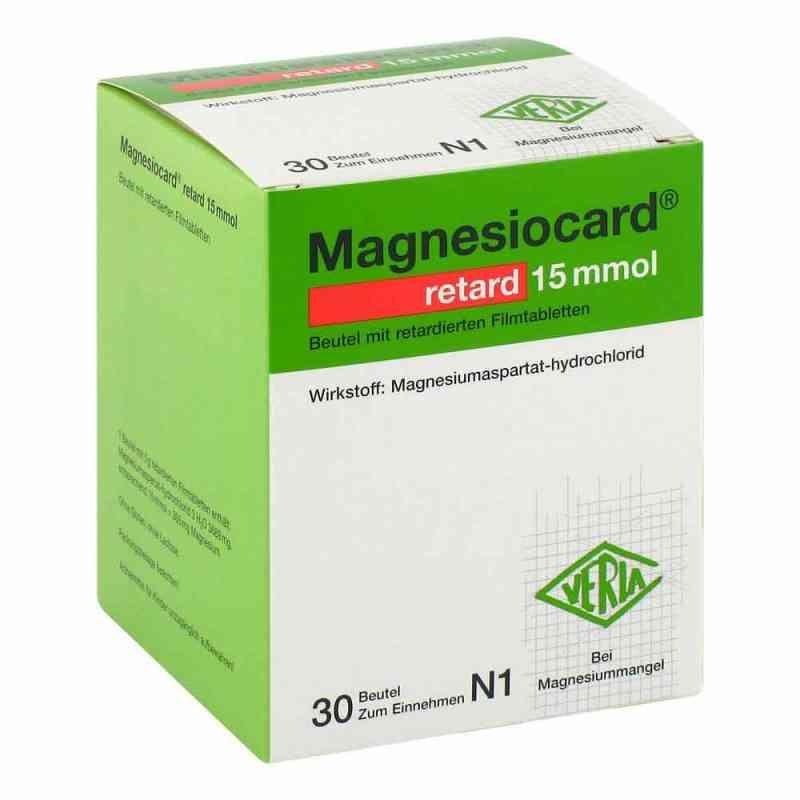 Magnesiocard retard 15 mmol Beutel mit ret.Filmtabl.  bei Apotheke.de bestellen