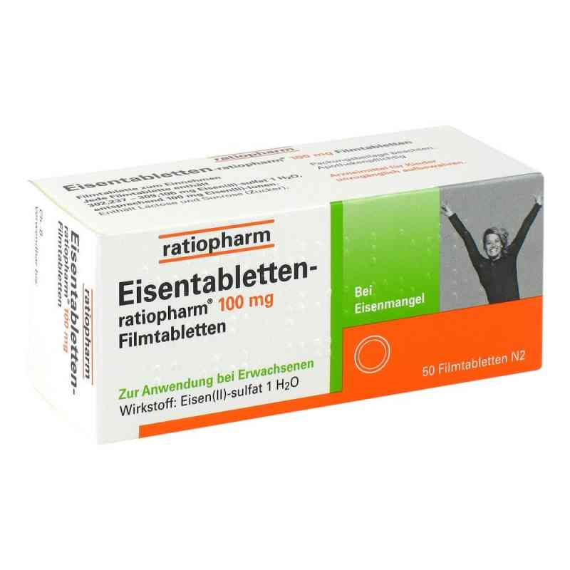 Eisentabletten-ratiopharm 100mg  bei Apotheke.de bestellen