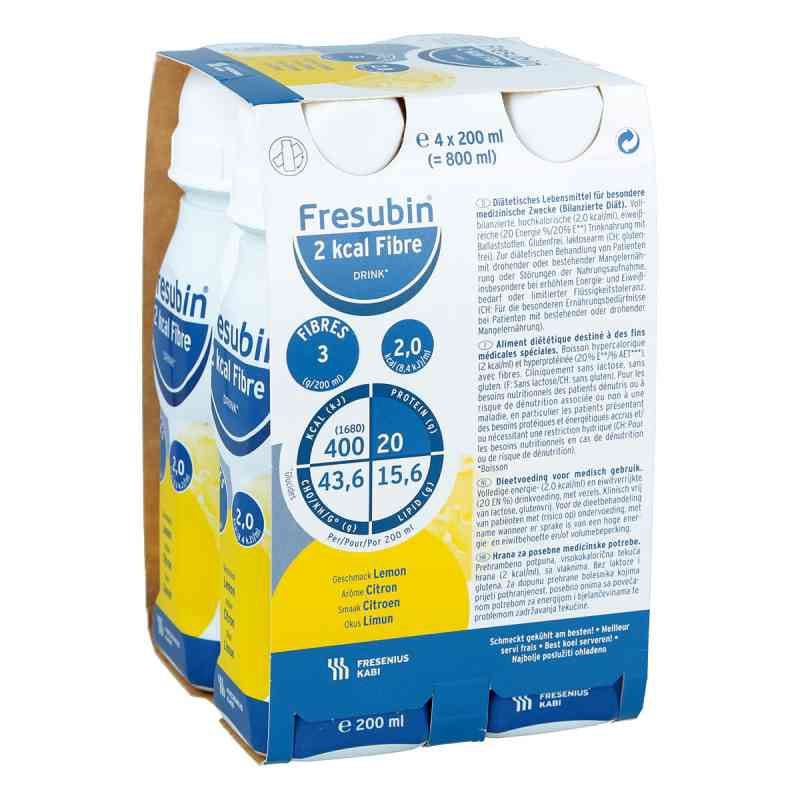 Fresubin 2 kcal fibre Drink Lemon Trinkflasche  bei Apotheke.de bestellen