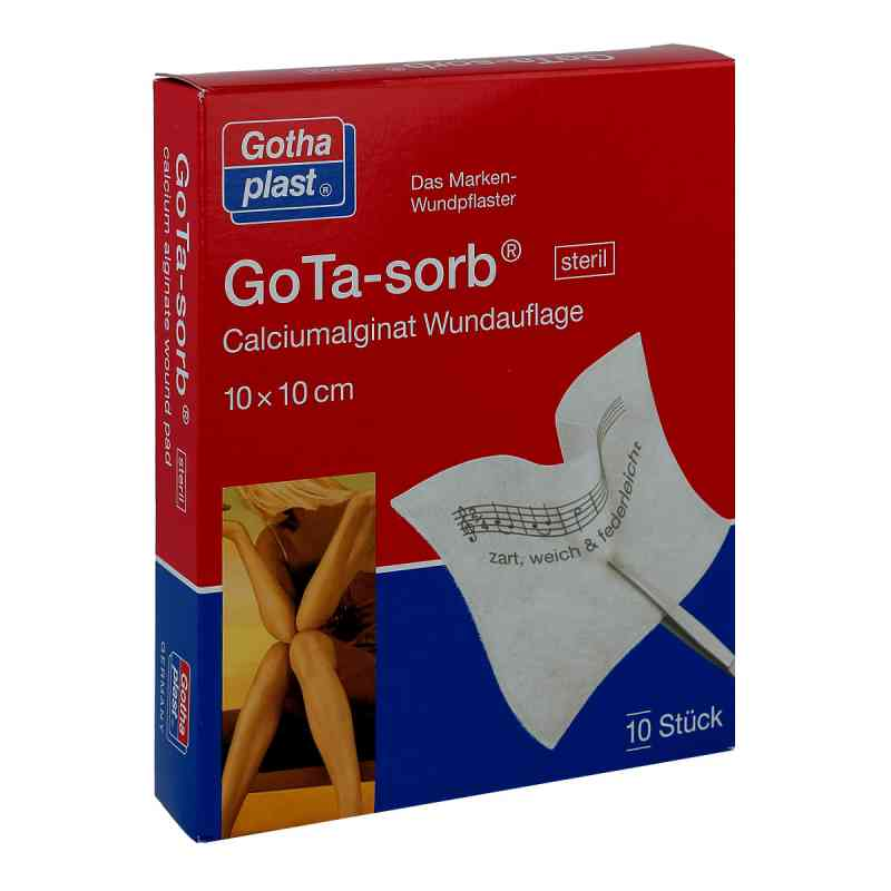 Gota Sorb steril 10x10cm  bei Apotheke.de bestellen
