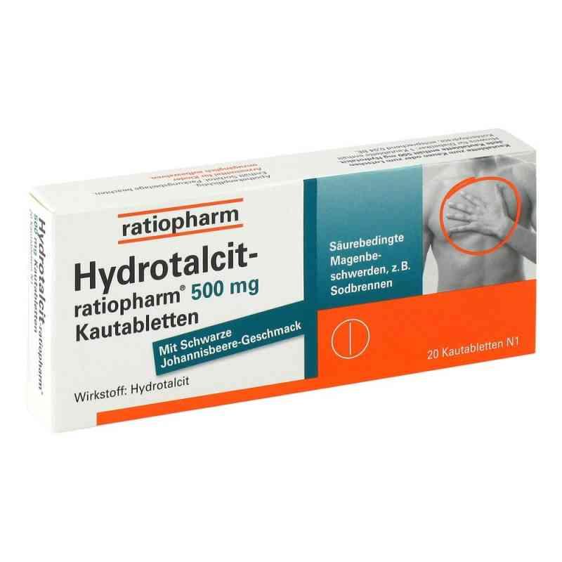 Hydrotalcit-ratiopharm 500mg  bei Apotheke.de bestellen