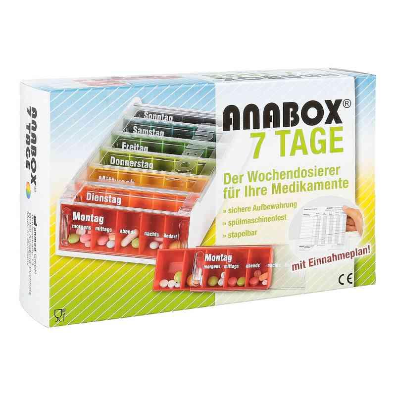 Anabox 7 Tage Regenbogen mit Einnahmeplan  bei Apotheke.de bestellen
