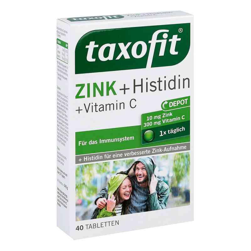 taxofit zink histidin mit vitamin c tabletten 40 stk. Black Bedroom Furniture Sets. Home Design Ideas