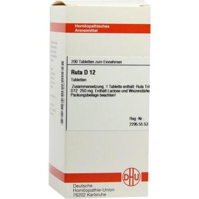 Ruta D12 Tabletten  bei Apotheke.de bestellen
