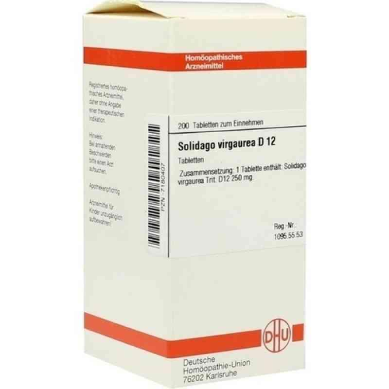 Solidago Virgaurea D12 Tabletten  bei Apotheke.de bestellen