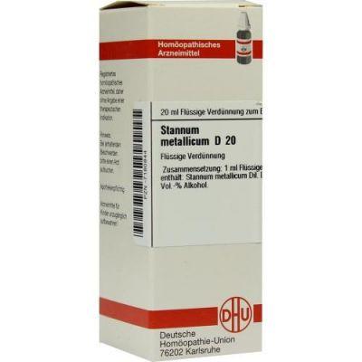 Stannum Met. D20 Dilution  bei Apotheke.de bestellen