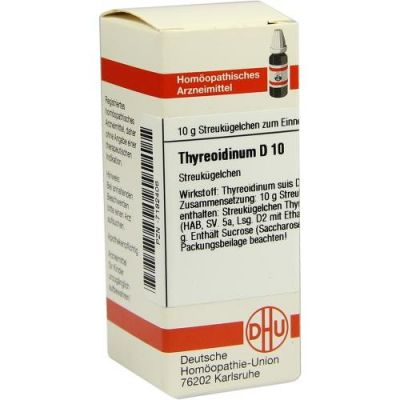 Thyreoidinum D 10 Globuli  bei Apotheke.de bestellen