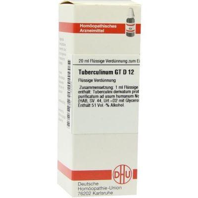 Tuberculinum Gt D12 Dilution  bei Apotheke.de bestellen
