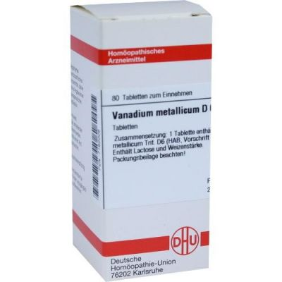 Vanadium Metallicum D6 Tabletten  bei Apotheke.de bestellen