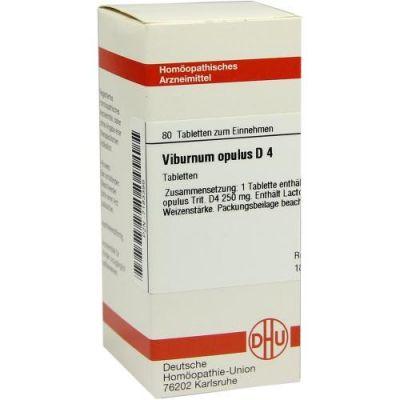 Viburnum Opulus D4 Tabletten  bei Apotheke.de bestellen