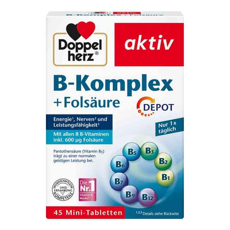 Doppelherz B-komplex + Folsäure Tabletten  bei Apotheke.de bestellen