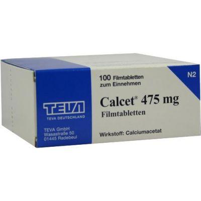 Calcet 475 mg Filmtabletten  bei Apotheke.de bestellen