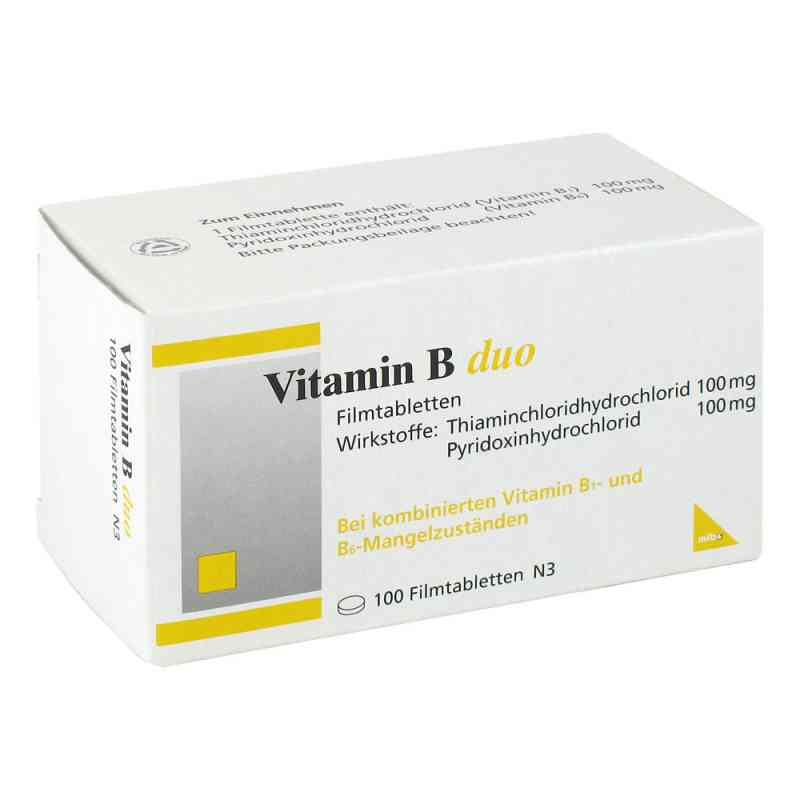 Vitamin B Duo Filmtabletten  bei Apotheke.de bestellen