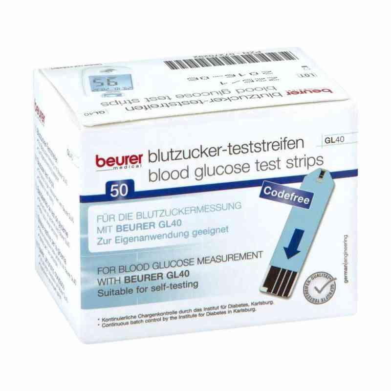 Beurer Gl40 Blutzuckerteststreifen  bei Apotheke.de bestellen