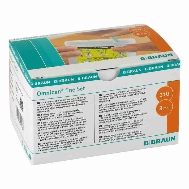 Omnican fine Set 0,25x8mm a 100 Kanülen  bei Apotheke.de bestellen