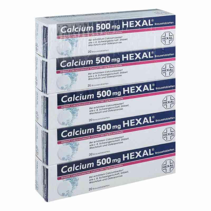 Calcium 500mg HEXAL  bei Apotheke.de bestellen