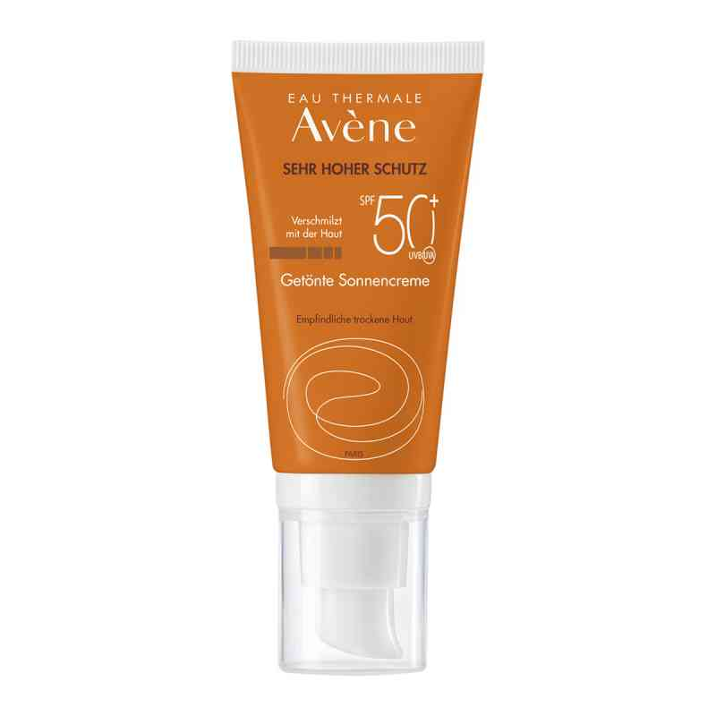 Avene Sunsitive Sonnencreme Spf 50+getönt  bei Apotheke.de bestellen