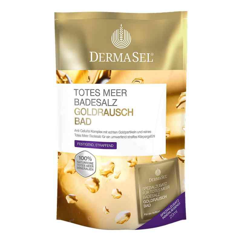 Dermasel Totes Meer Badesalz+gold Exklusiv  bei Apotheke.de bestellen