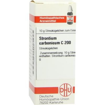 Strontium Carbonicum C200 Globuli  bei Apotheke.de bestellen