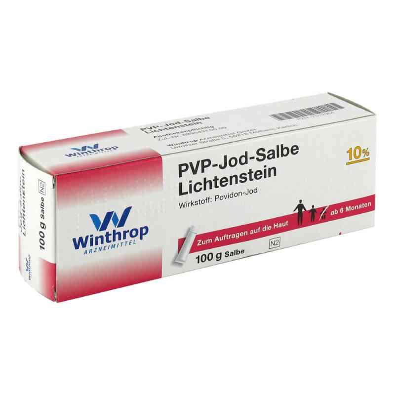 Pvp Jod Salbe Lichtenstein  bei Apotheke.de bestellen