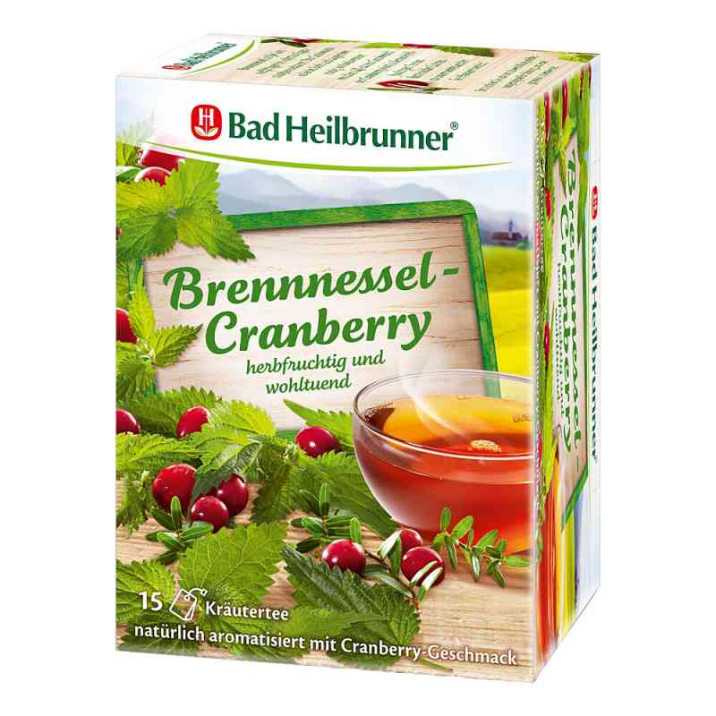 Bad Heilbrunner Tee Brennessel Cranberry Filterbtl  bei Apotheke.de bestellen