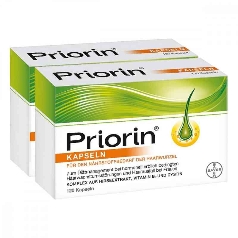 Priorin 2x120 Kapseln + 30 Kapseln gratis  bei Apotheke.de bestellen