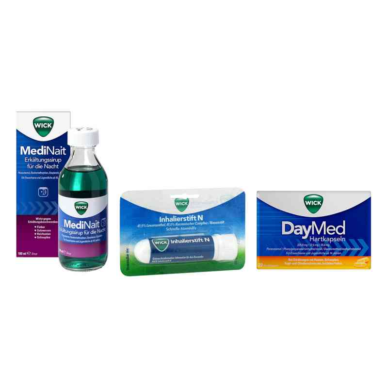 Wick MediNait, DayMed und Inhalierstift N Set  bei Apotheke.de bestellen