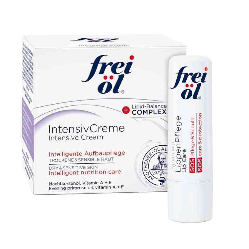 Frei Öl Intensivcreme (50 ml) + Frei Öl Lippenpflege gratis  bei Apotheke.de bestellen