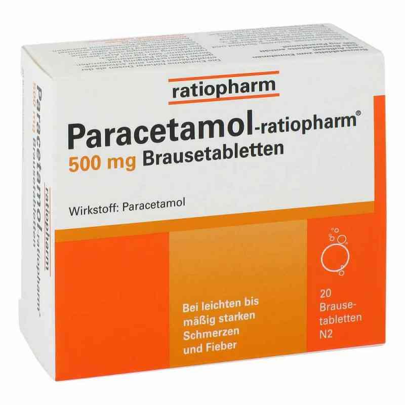 Paracetamol ratiopharm 500mg Brausetabletten  bei Apotheke.de bestellen