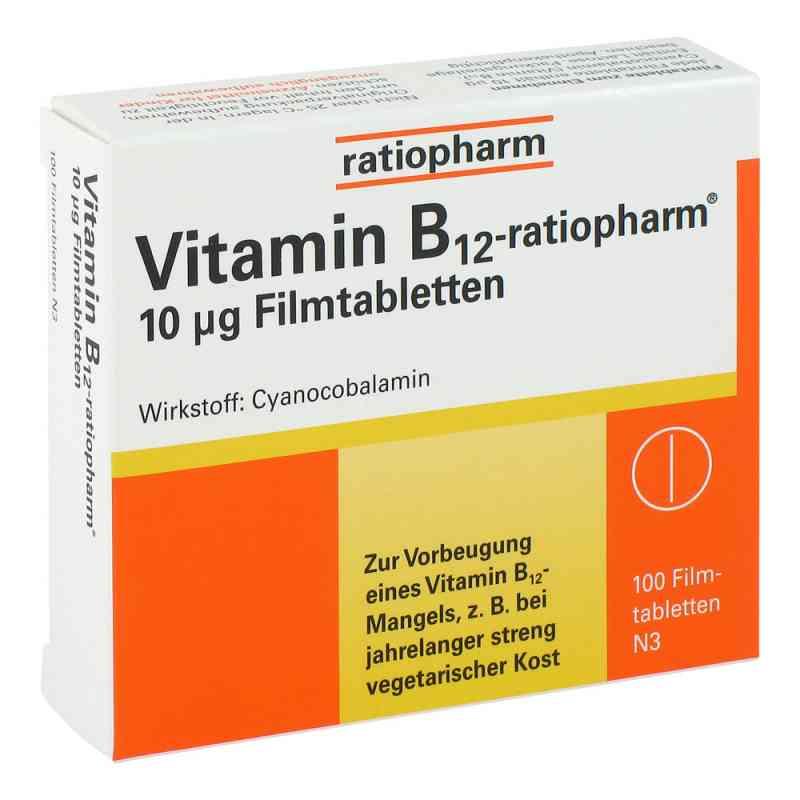 Vitamin B12 ratiopharm 10 [my]g Filmtabletten  bei Apotheke.de bestellen