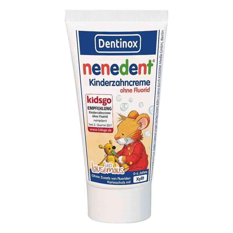 Nenedent Kinderzahncreme ohne Fluorid Standtube  bei Apotheke.de bestellen