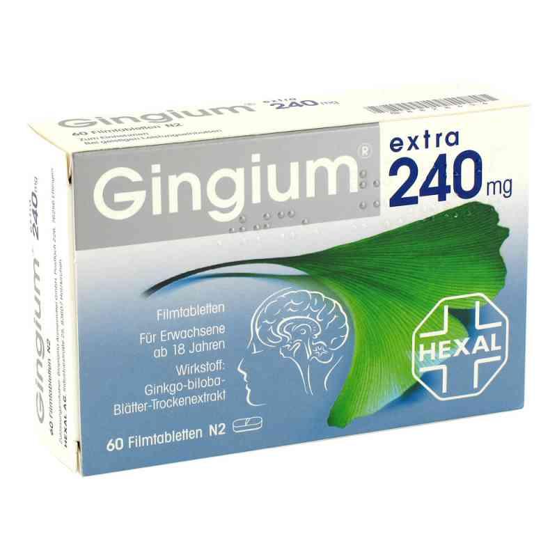 Gingium extra 240mg  bei Apotheke.de bestellen