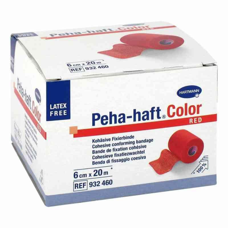 Peha Haft Color Fixierbinde latexf.6 cmx20 m rot  bei Apotheke.de bestellen
